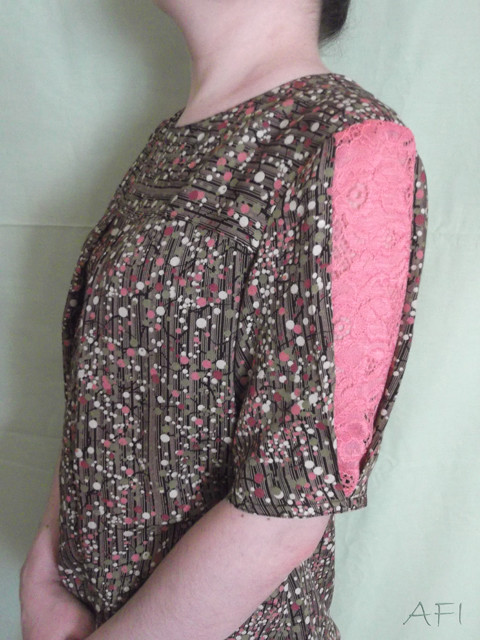 Spring blouse - Sleeve detail