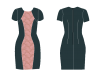 hourglass dress pattern