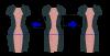 adjust hip for hourglass dress