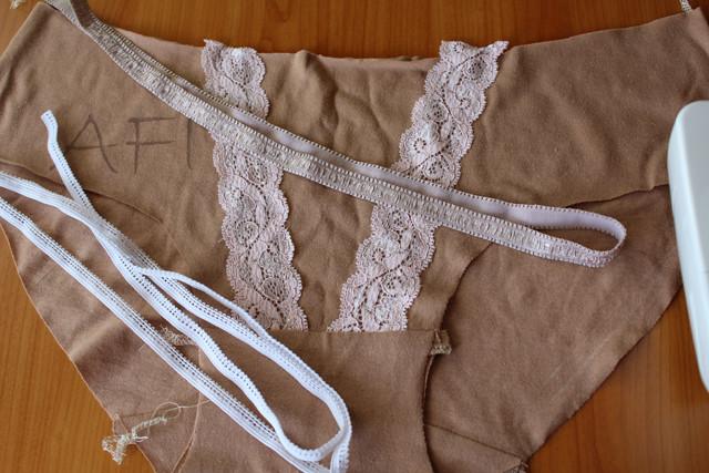 Making nude panties