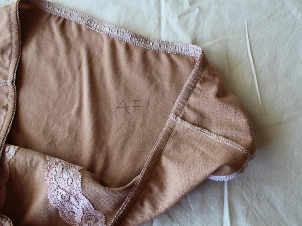 Nude panties - Inside view