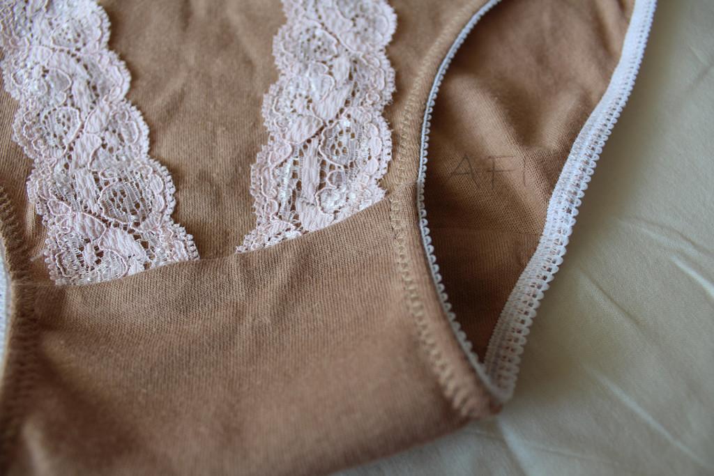 Nude panties - Stitch detail
