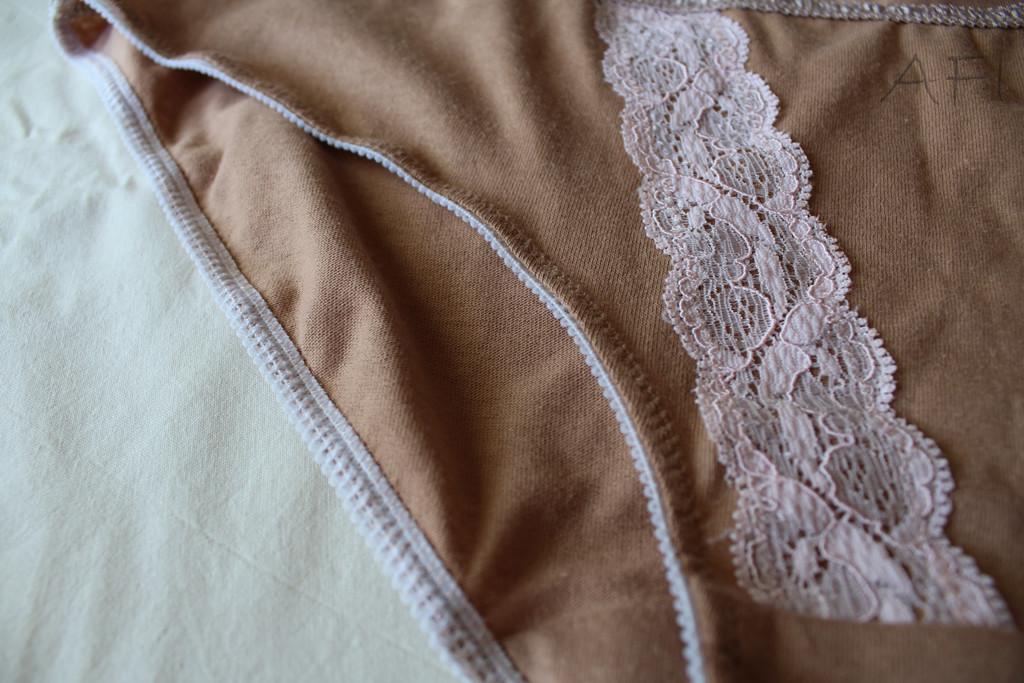 Nude panties - Elastic detail