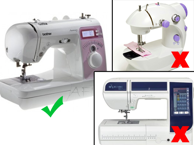 Sewing tips - Beginners sewing machine