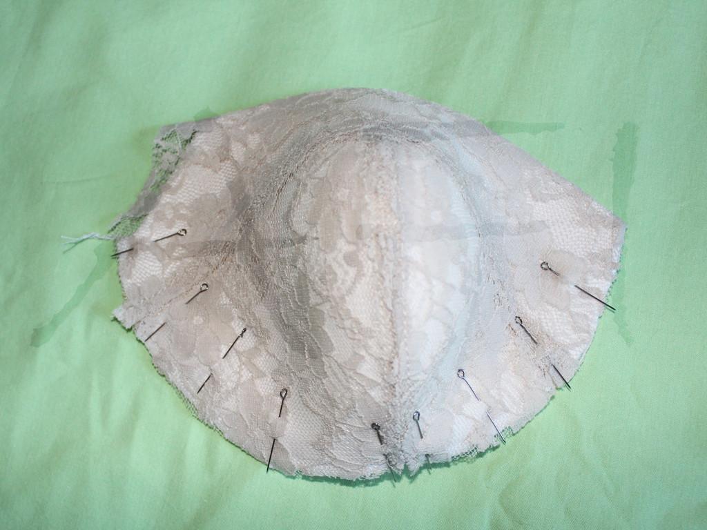 maya foam lace bra