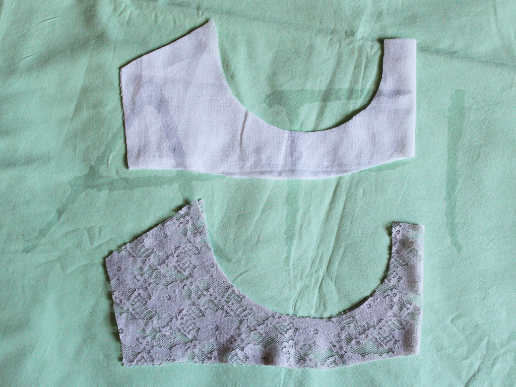sewing a bra cradle