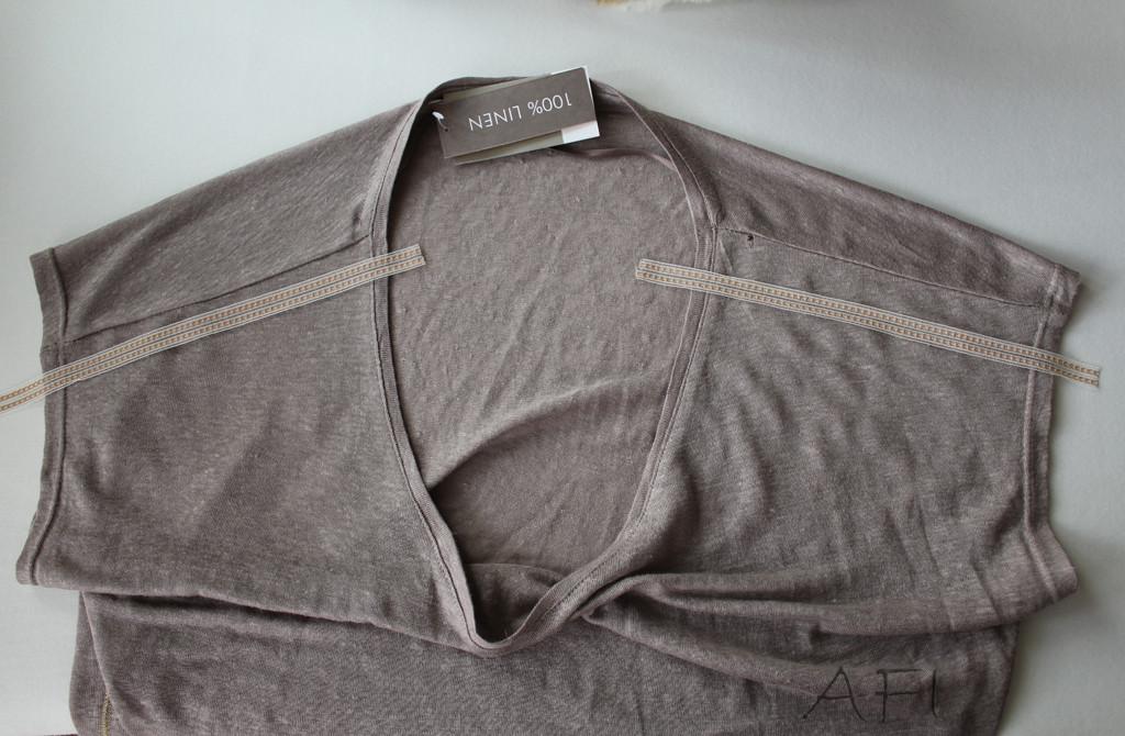 cover shoulder seams