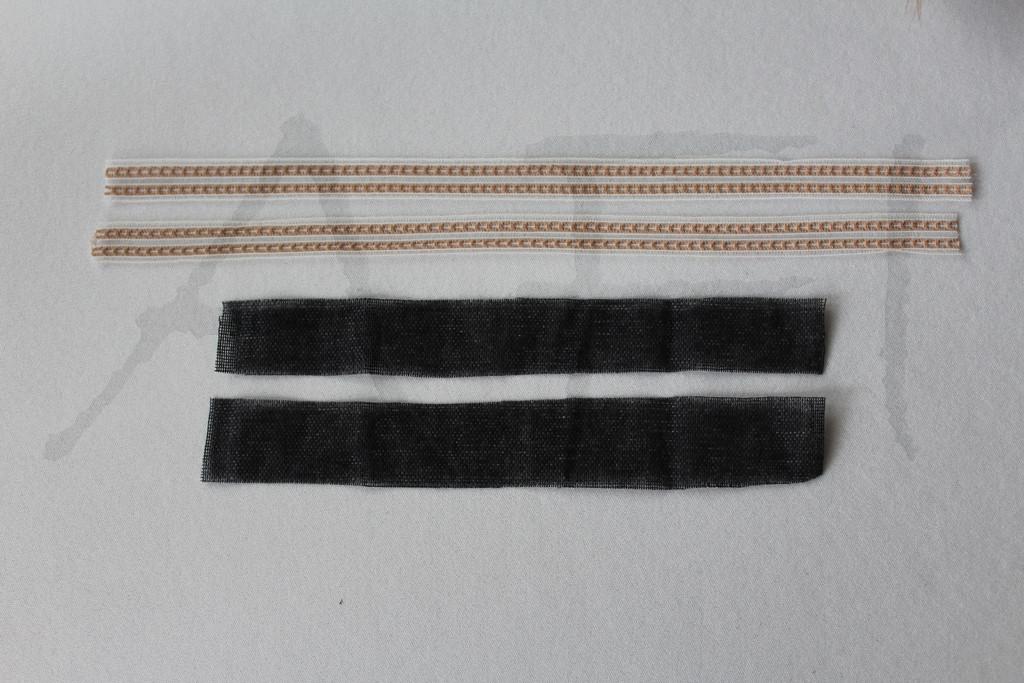 interfacings and ribbons