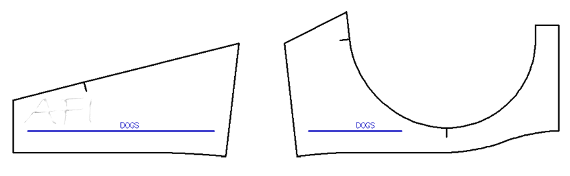 bra pattern adjustments
