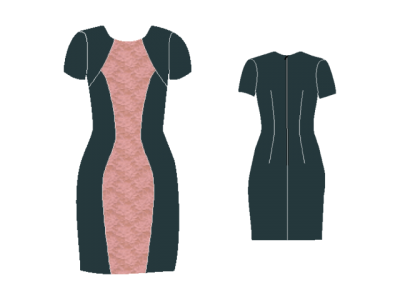 New pattern available - The Hourglass Dress – AFI Atelier
