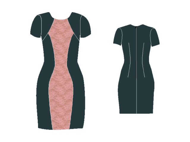 Hourglass Dress Pattern by Afi Atelier