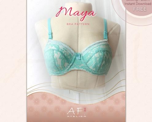 Maya Bra Free Sewing Pattern