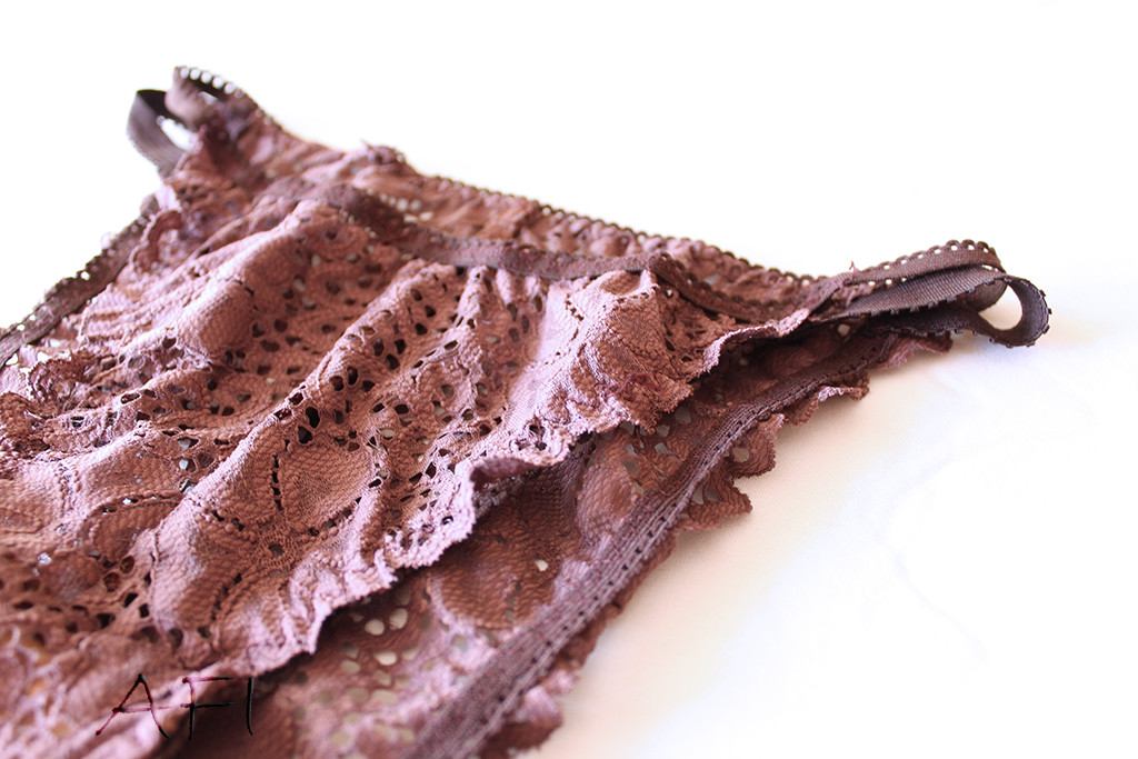 AFI chocolate panties detail