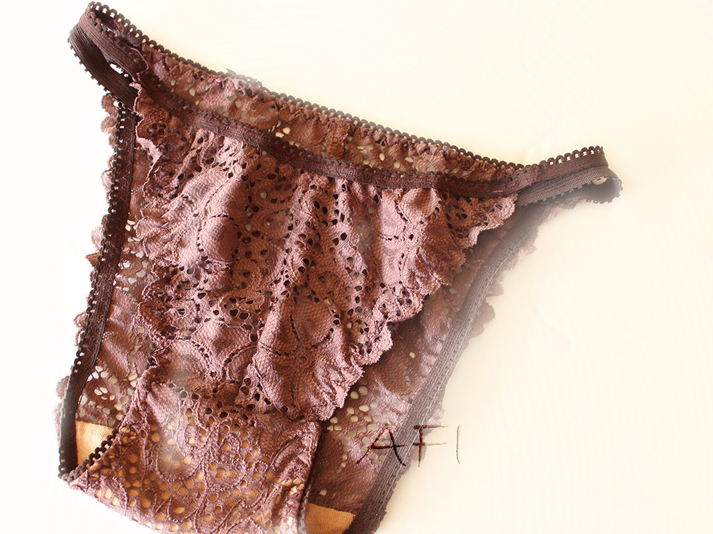 AFI chocolate panties