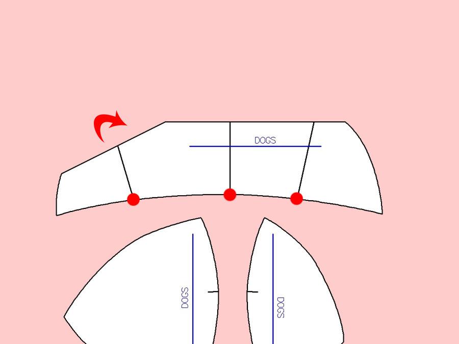 Maya bra upper cup alteration