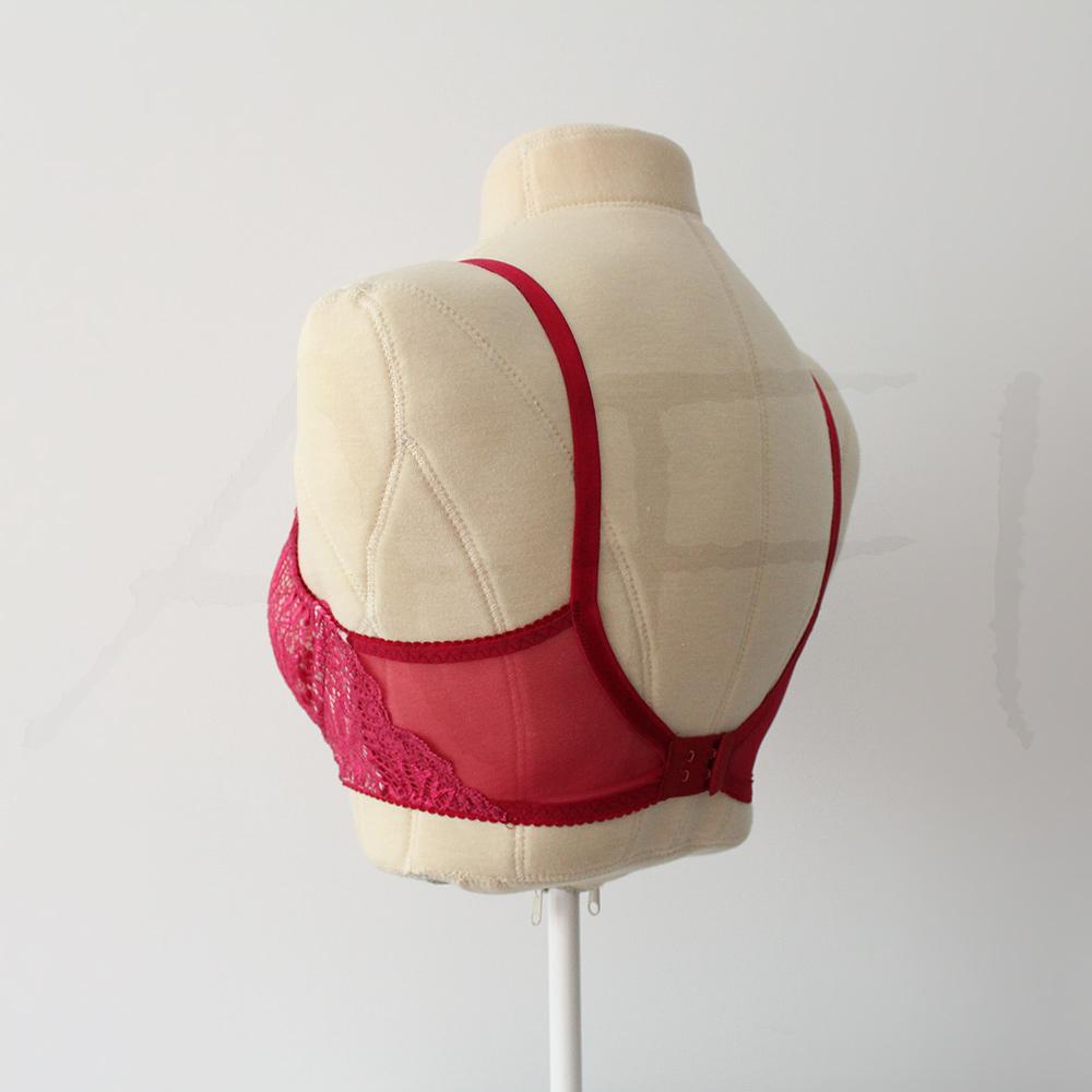 Afi Chic Bra Pattern - Style 3 - Back view
