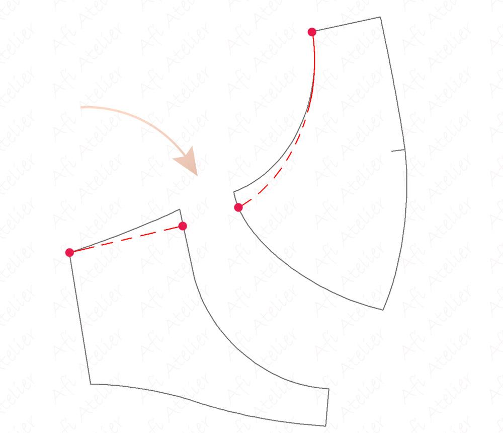 Afi Chic Bra - Underwire length adjustment