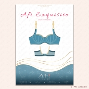 Afi Exquisite Bra Pattern cover