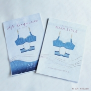 Afi Exquisite Bra - Pattern covers